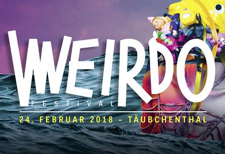 WEIRDO Festival im Täubchenthal