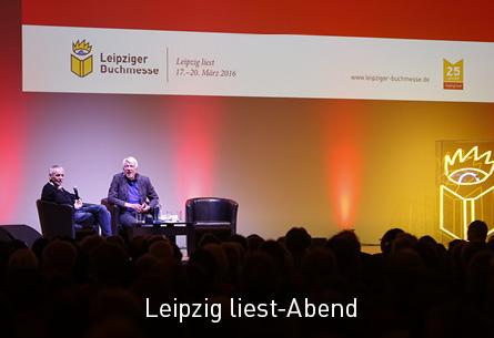 Leipzig liest-Abend