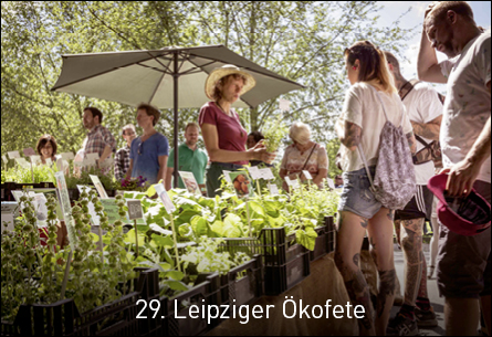 29. Leipziger Ökofete