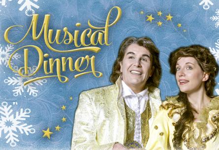 Die Musical Dinnershow im Riverboat